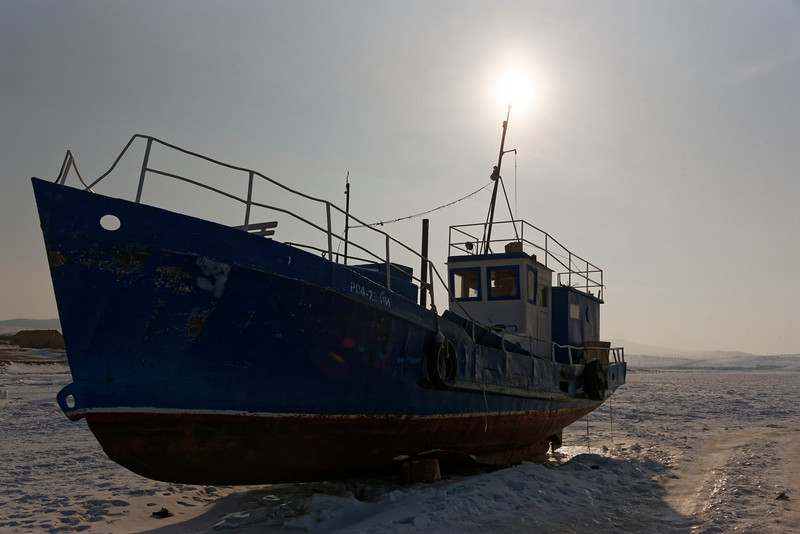Kuzhir harbour - winter life in a Wild East Siberian village