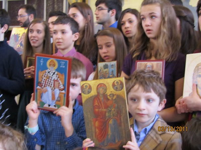 Community Life - Sunday of Orthodoxy - March 13, 2011