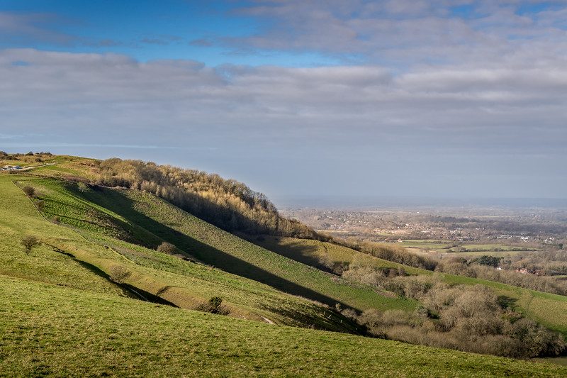 The Ditchling Beacon Hill