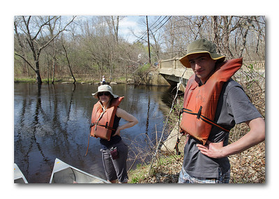 Canoe trip on The Ipswich River