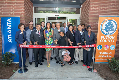 Washington Park Library Re-opening, August 8, 2019