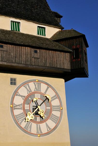 Uhrturm (Clock Tower), Schlossberg in Graz, Austria