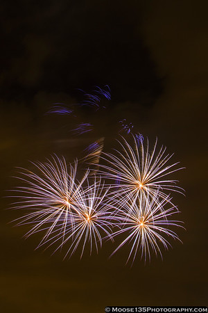 Charlotte Fireworks - July 4, 2013