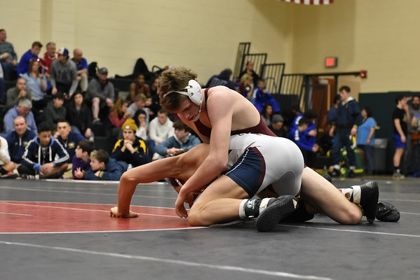 Western Mass. D-III wrestling championships at Taconic - 021520