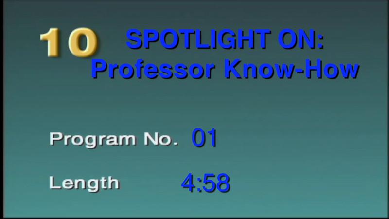 Professor Know-How