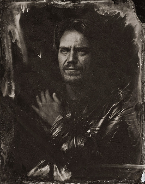 . Michael Shannon poses for a tintype (wet collodion) portrait at The Collective and Gibson Lounge Powered by CEG, during the 2014 Sundance Film Festival in Park City, Utah. (Photo by Victoria Will/Invision/AP)