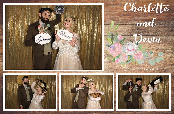 Devin & Charlotte - 9.12.18 - Photo Strips