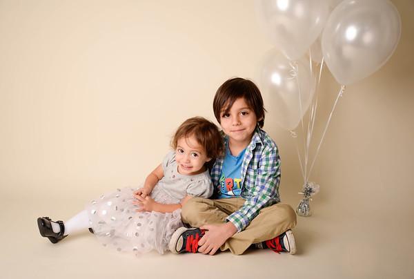 Ethan(6) Emily(2)