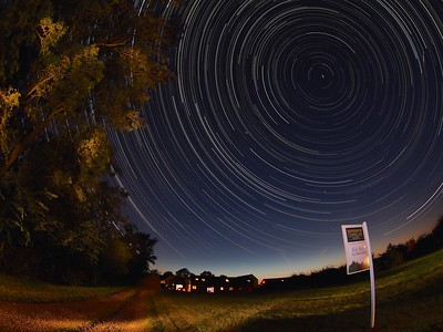 Star Trails FRAMED