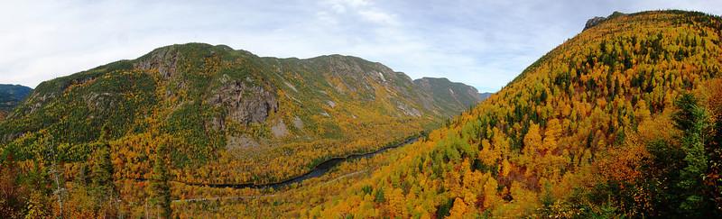 Sentier de l'Acropole des Draveurs - Parc national des Hautes-Gorges de la rivière Malbaie, Québec