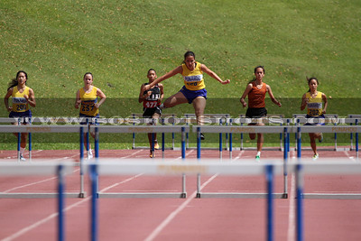 032710 Girls 300 Hurdles