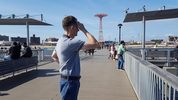 Simon and Company- Coney Island Visit