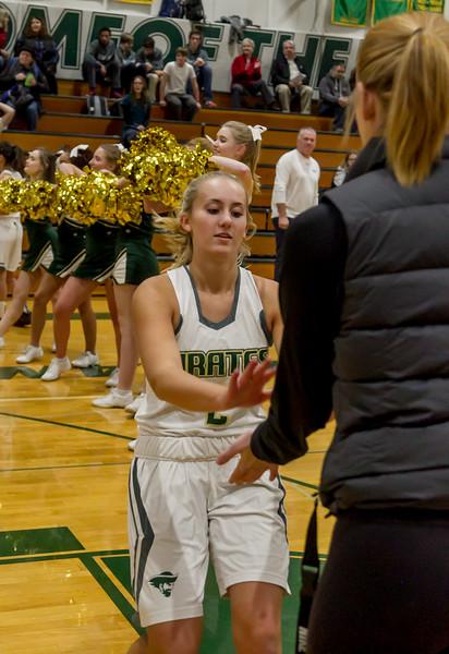 Girls Varsity Basketball v Granite Falls 12/12/2017