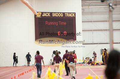 400 Meters - 2013 CMU Open Indoor Track Meet