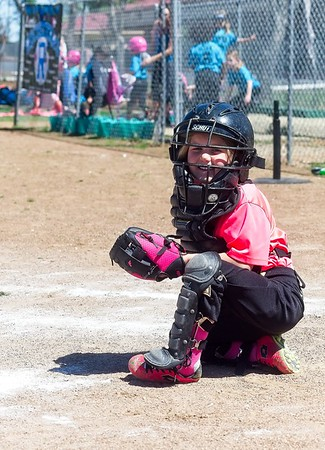 Delilah plays softball and Fans