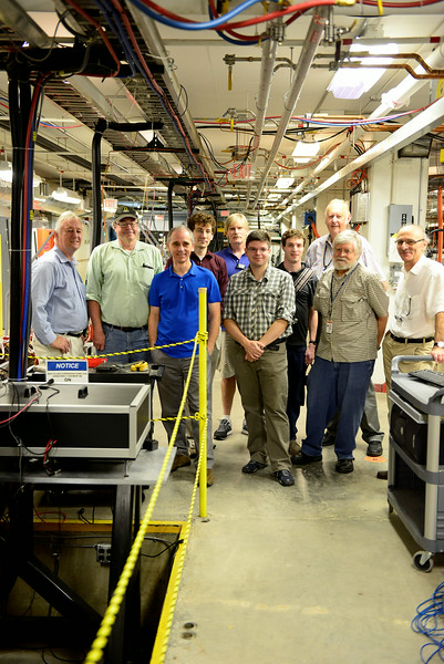 JLab tour, Newport News, Virginia.