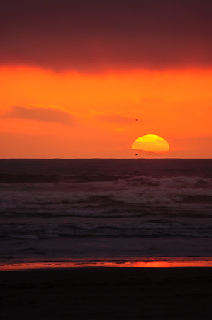 Seaside, OR Sunsets May 2012