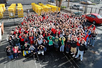 2010 Rose Bowl Service Project