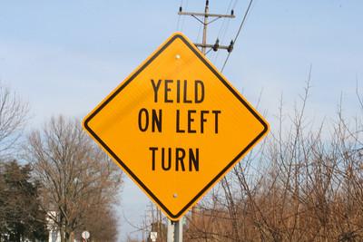 Yeild Sign 20061224