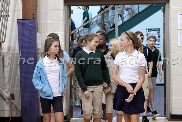 CHCA 2010 MS 5th Grade Chapel Welcome 08.27