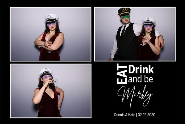 Dennis & Kate [Photo Booth] (02/22/20)