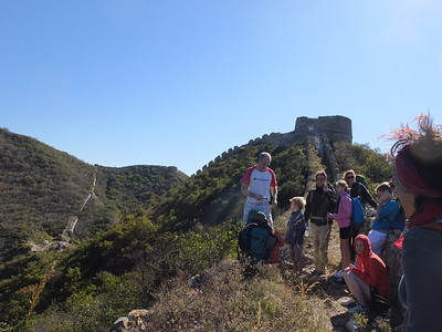 【Oct】Border defense great wall camping