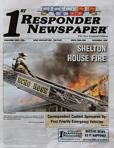 1st Responder Newspaper Cover (December 2009)