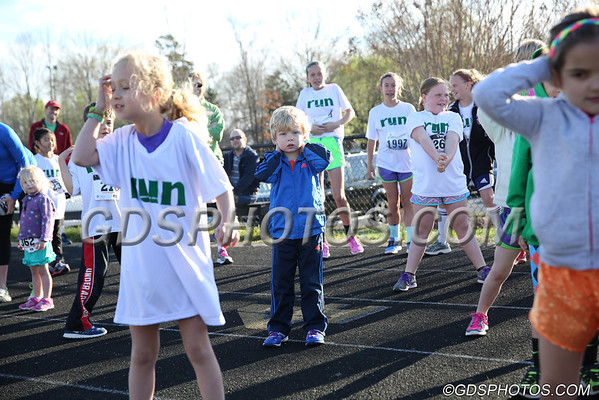 BENGAL DASH 2014 (KID'S DASH & 1 MILE RUN)