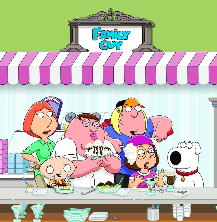 . The Griffins of FAMILY GUY (2012/Fox)