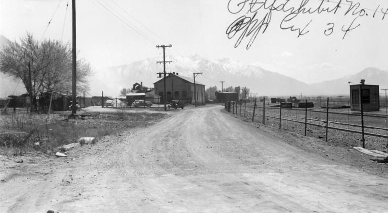 Provo yard, 1947.