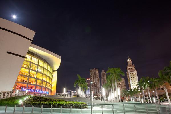 Miami Night Images
