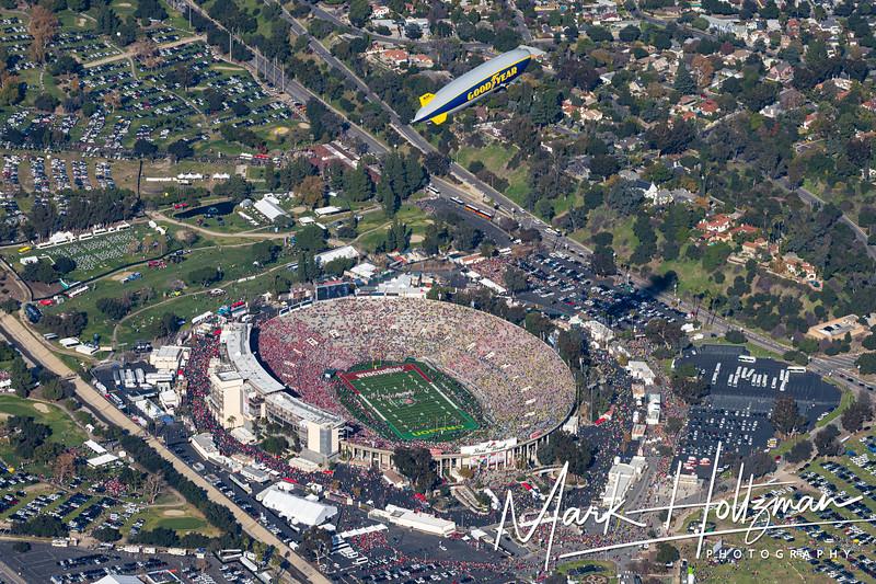 2020 Rose Bowl: University of Oregon vs University of Wisconsin-Madison
