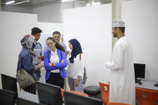 British School Muscat Students' visit to MEC