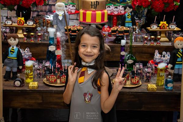 Festa Harry Potter no Espaço Algazarra Kids da Luisa