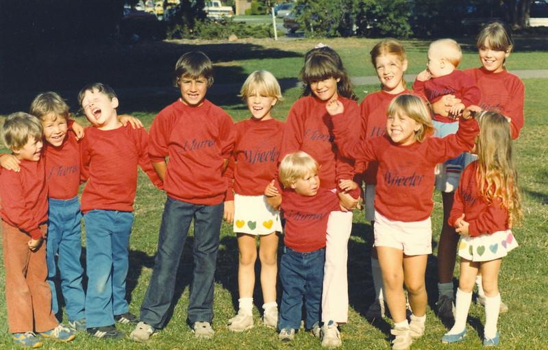 June 1984, Wheeler Cousins