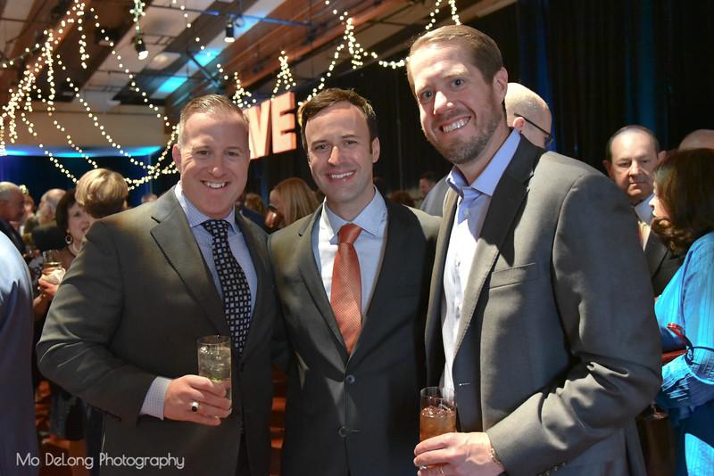 Dan Kaplan, Doug McCracken and Steve Ward