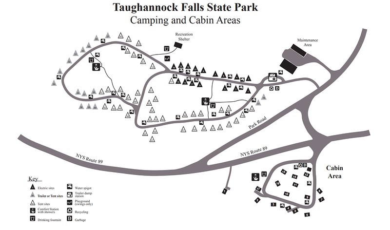 Taughannock Falls State Park (Campground Map)