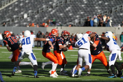 Herd State Championship Game - 2014 - Trophy & Tunnel Pics