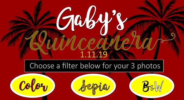 Gaby's Quinceneara