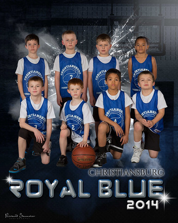 Christiansburg Royal Blue 2014