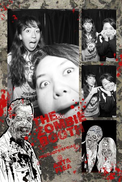 Art n Flea (Zombie Day)