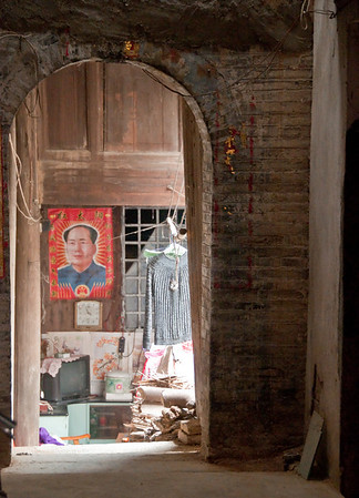Guangxi towns, houses, artifacts