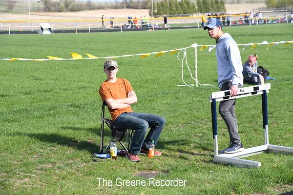 Girls Track in Greene