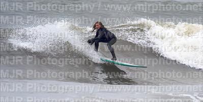 Surfing, Gilgo Beach, NY,  05.02.09