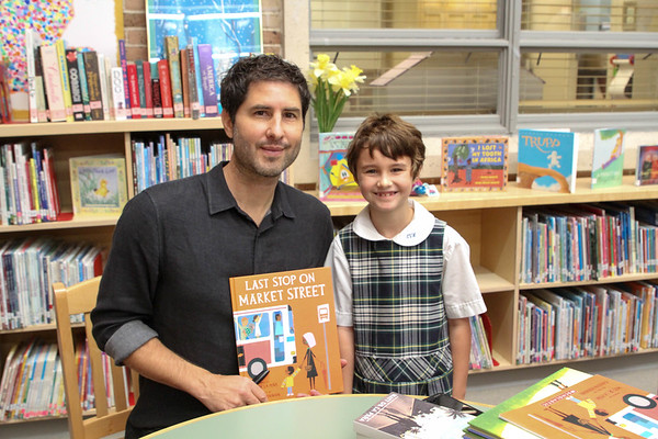 Author Matt de la Peña (10.3.19)