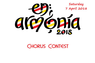 2018-0407 SABS -Saturday Chorus Contest