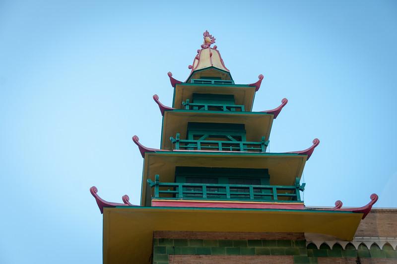 Temple in Chinatown, San Francisco, California
