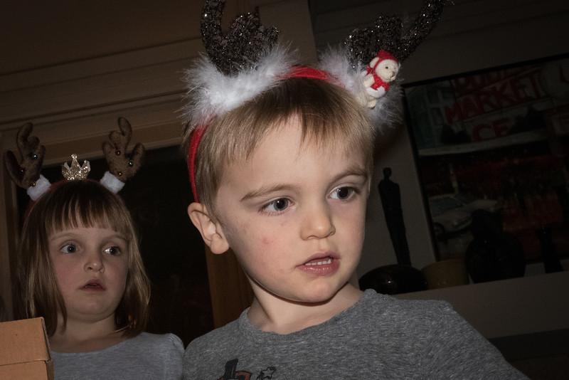 Abi (5) and Wyatt (3).