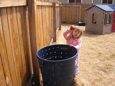 Composting Time - March 2006