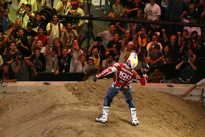 X GAMES: TRAVIS  PASTRANA'S  DOUBLE - BACK FLIP!!